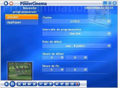 chesley dtv 310 easy key, programmation powercinema