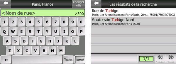 Mio c510 c710 interface saisie adresse