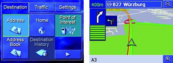 Pioneer Avic-S1, interface