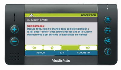 logiciel viamichelin navigation pnd