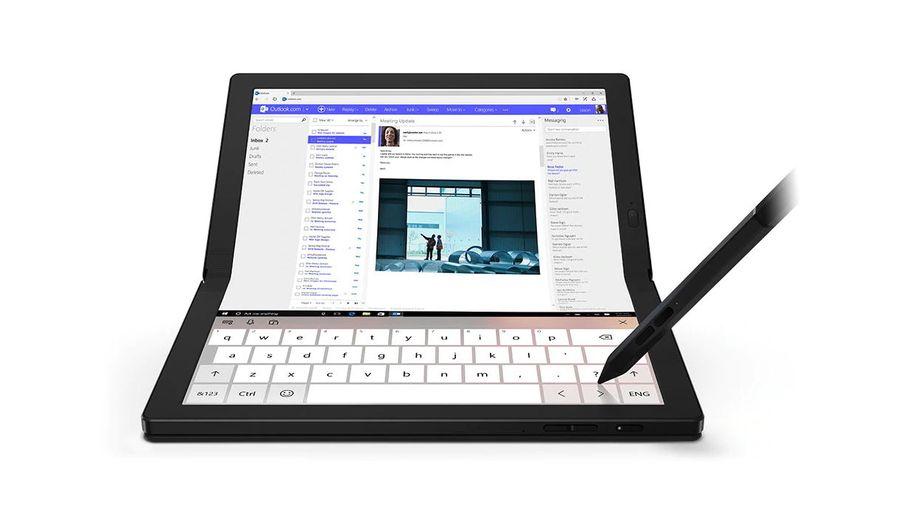 Le Thinkpad X1 Fold de Lenovo se plie au moindre de vos désirs - Les Numériques