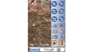 Navigation GPS avec Google Earth 3D chez Volkswagen