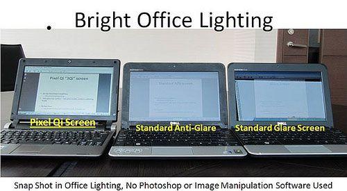 Pixel Qi Backlight On