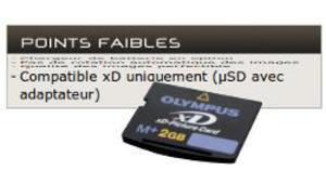Les formats de cartes mémoires pour appareils photo