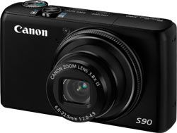 Canon S90 test review