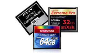 Test : les cartes Compact Flash sont de retour !