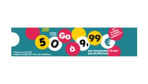 Bon plan – Sosh relance son forfait mobile 50Go à 9,99€/mois