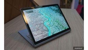 Microsoft rafraîchit son Surface Book 2