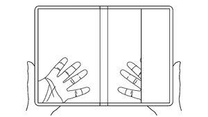 LG a breveté un smartphone pliable et transparent