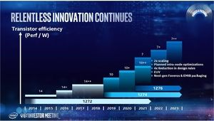 Intel: le 10nm sera une courte transition avant le 7nm