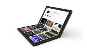 Le ThinkPadX1 de Lenovo est le premierPC à écran pliable