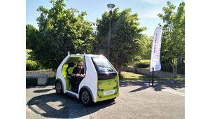 Renault EZ-POD: une Twizy à la sauce autonome