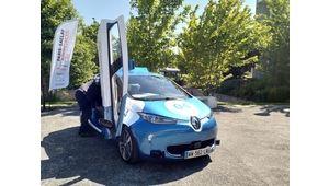Paris-Saclay Autonomous Lab: une navette et trois Zoé autonomes