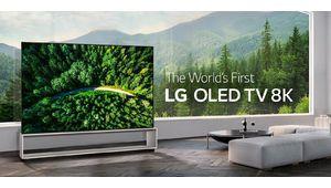 Le TV Oled LG 65R9 enroulable et le 88