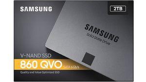 Bon plan – SSD Samsung 860 QVO de 2To en promotion à 178,69€