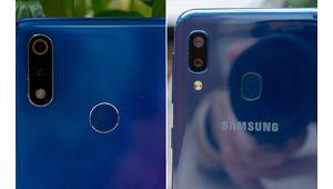 Labo – Le module principal du Samsung Galaxy A20e face au Realme 3 Pro