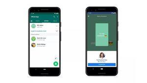 """WhatsApp & Facebook: des statuts partagés en quelques """"clics"""""""
