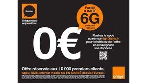 Forfait 6G à 0€ : Orange sensibilise sur l'hameçonnage