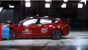 La Tesla Model 3 décroche 5 étoiles aux crash-tests Euro NCAP