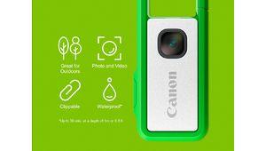Canon lance un financement participatif pour un appareil étanche et clipsable