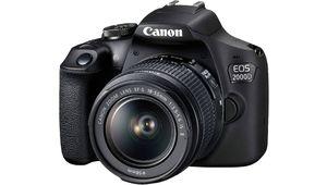 Amazon Prime Day – Reflex Canon EOS 2000D à 299 € avec le zoom 18-55 mm f/3,5-5,6 stabilisé
