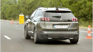 PSA teste une Peugeot 3008 autonome sur autoroute