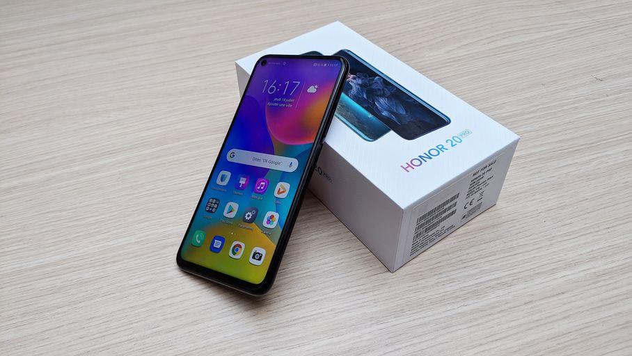 Le smartphone Honor 20 Pro arrivera en France fin août