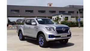 Pick-up : le cousin chinois des Nissan Navara et Renault Alaskan reçoit une version électrique