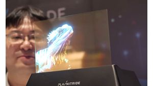 PlayNitride dévoile ses derniers prototypes d'écrans Micro-Led