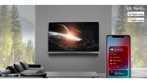 TV LG 2019 : le support d'AirPlay 2 et de HomeKit d'Apple pour demain