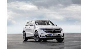 Les prix des SUV électriques Mercedes EQC sont connus