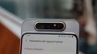 Labo – Le module photo périscopique du smartphone Galaxy A80 à la loupe