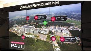 LG Display investit plus de 2 milliards d'euros dans sa nouvelle usine Oled