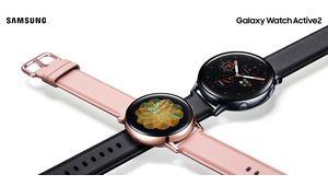 Samsung dévoile la Galaxy Watch Active 2 et sa fonction ECG