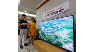 Samsung et KT Skylife s'essayent à la transmission 8K par satellite