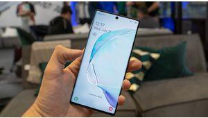 Prise en main des Samsung Galaxy Note 10 et Note 10+ : la sobriété de l'excellence