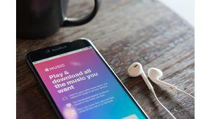 Sur Apple Music, les fichiers