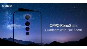 Oppo Reno2 : 4 capteurs, un zoom x20, what else ?