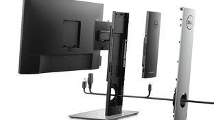 Dell présente un PC installé dans un support d'écran