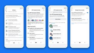 Facebook permet de gérer les informations qu'il obtient des sites et applis tiers