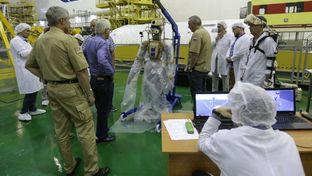 Fedor : le robot humanoïde russe en route vers la Station Spatiale Internationale
