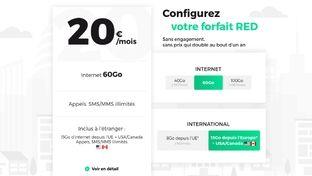 Mobile : Red (SFR) revoit sa copie et s'essaie à un seul forfait modulable