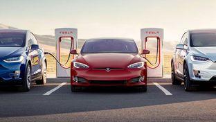 Tesla en patron sur le marché européen du véhicule électrique
