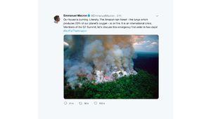 Forêt amazonienne en feu, ou une nouvelle manipulation photographique