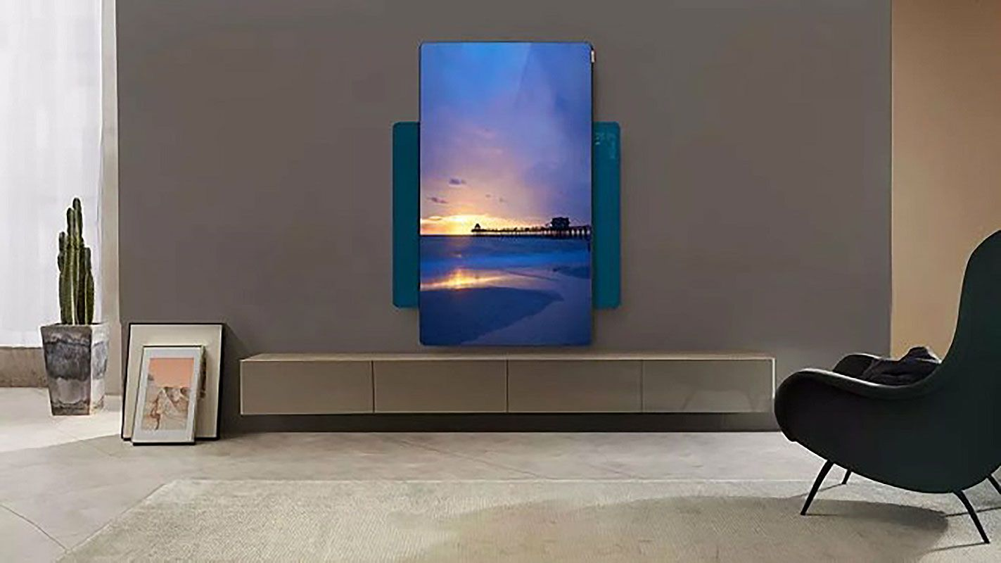 Actualité : Après Samsung, TCL dévoile aussi un téléviseur vertical