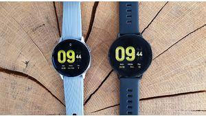 Prise en main de la Samsung Galaxy Watch Active 2 : on prend les mêmes et on recommence