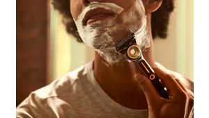 Heated Razor : Gillette lance son rasoir 5 lames chauffant