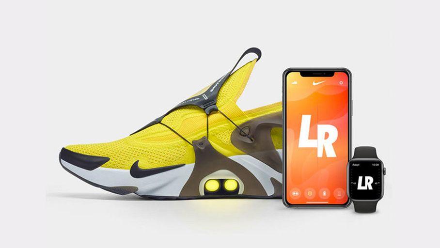 Nike Adapt Huarache  la chaussure autolaçante contrôlable