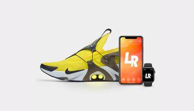 Nike Adapt Huarache : la chaussure autolaçante contrôlable avec ...