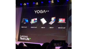 IFA 2019 - Lenovo renouvelle sa gamme de PC portables Yoga